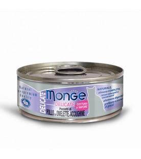 Monge Delicate Cat Pollo con Omelette e Acciughine 80 g. SEC00869
