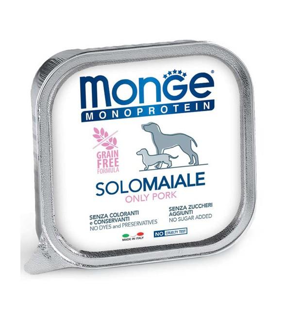 Monge Monoprotein Dog Patè Solo Maiale 150 g. SEC00923