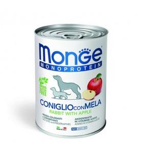 Monge Monoprotein Fruits Dog Patè Coniglio con Mela 400 g. SEC00934