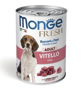 Monge Fresh Dog Bocconi in Paté Vitello 400 g. SEC00948