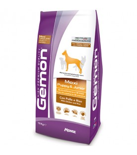 Gemon Cane Maxi Puppy & Junior Pollo & Riso 15 kg SEC00981