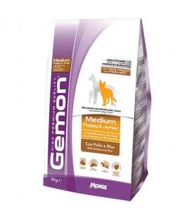 Gemon Cane Medium Puppy & Junior Pollo & Riso 15 kg SEC00979